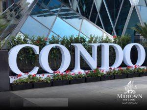 ميد تاون كوندو العاصمة الإدارية Midtown Condo New Capital