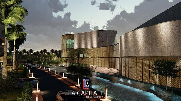 La Capitale New Cairo compound address