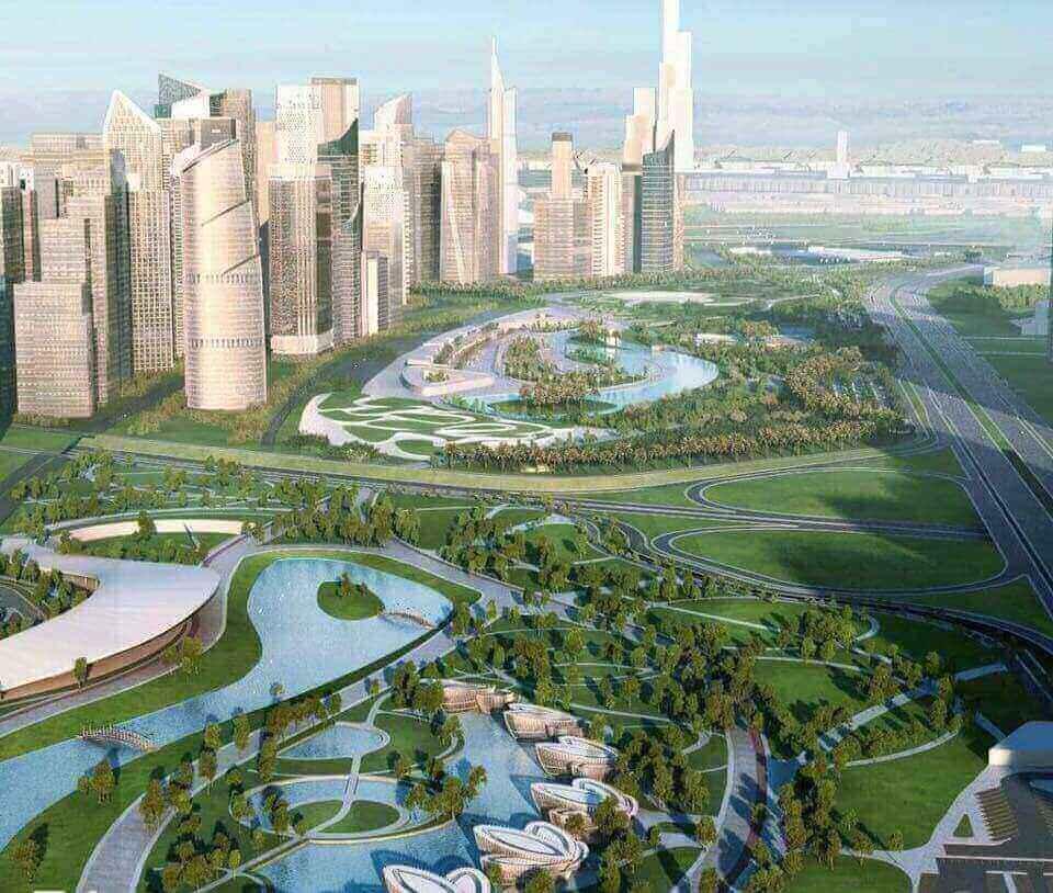 المدينة الادارية الجديدة في مصر