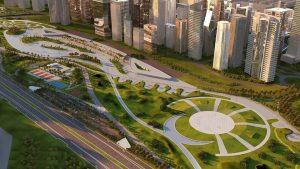 مشروع سوانيو العاصمة الأدارية