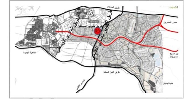 موقع كمبوند المقصد العاصمة