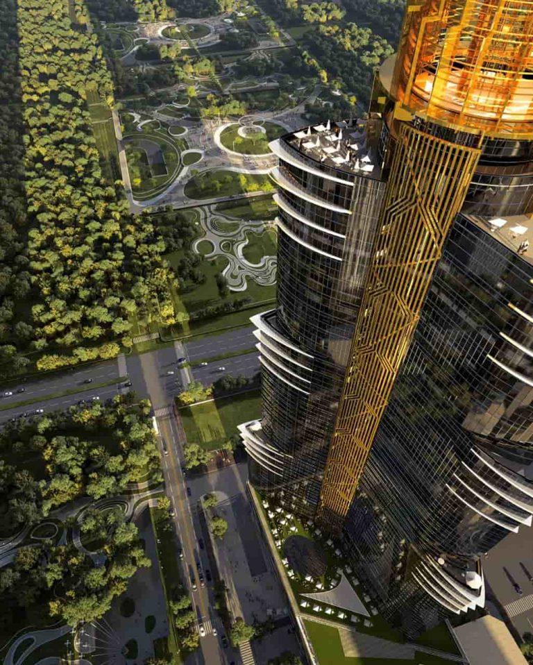 نيل تاور العاصمة الادارية الجديدة
