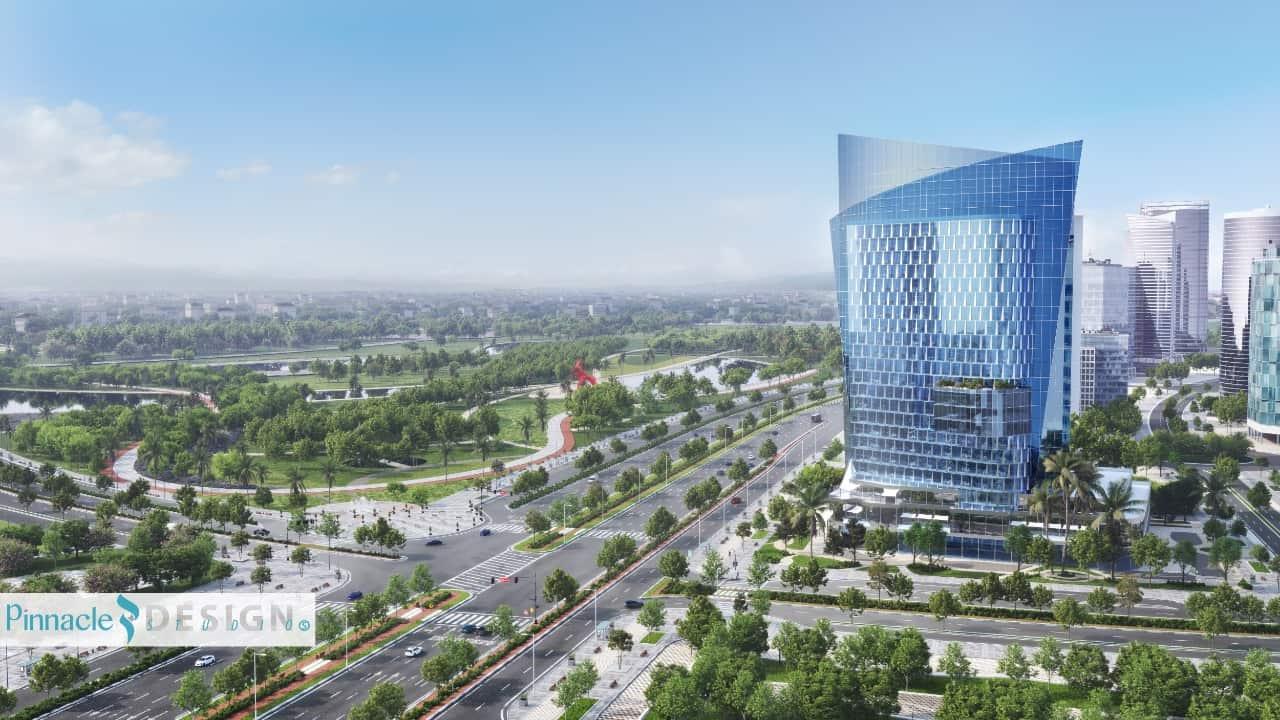 منصات تاور العاصمة الادارية الجديدة