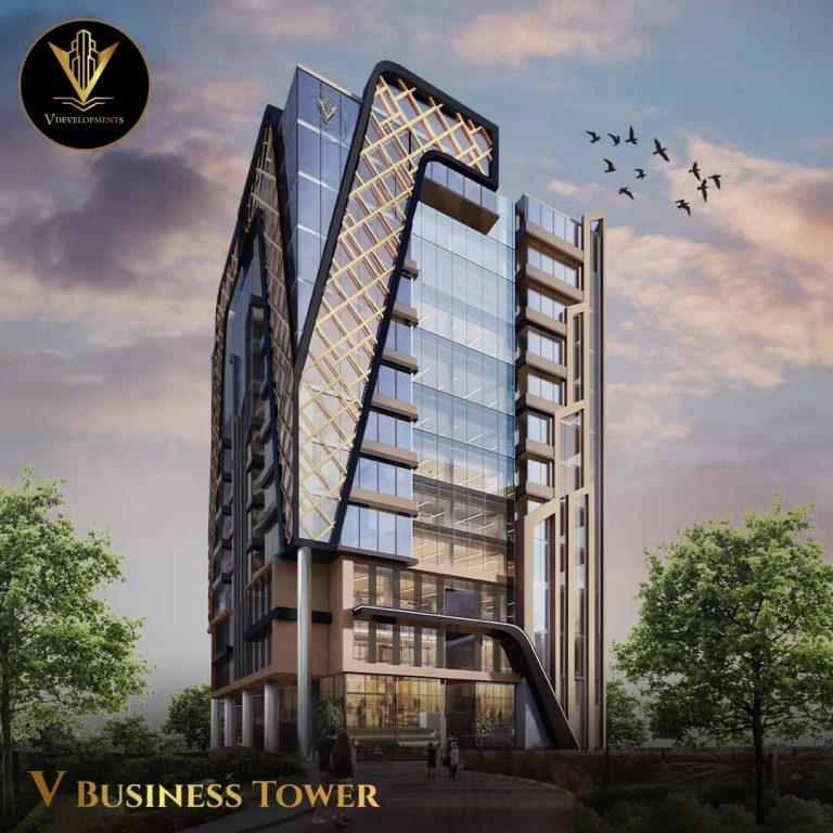 ڤي بيزنس تاور العاصمة الادارية الجديدة V business tower new capital