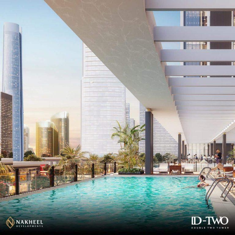 دبل تو تاورز العاصمة الادارية الجديدة DOUBLE TWO TOWER